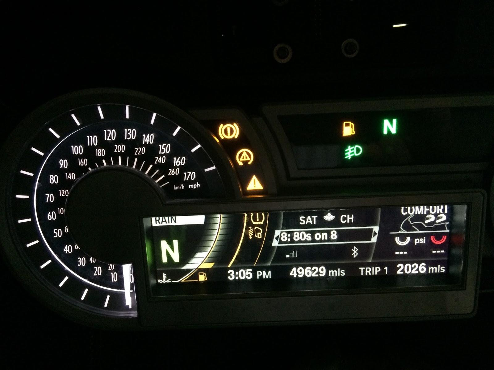 BMW K 1600 GT Blog strange electrical problem