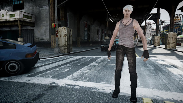 Infinite GTA 4 Mod: GTA 4 MOD :DmC Devil May Cry Dante Pack