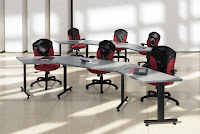 Connectable Training Room Tables