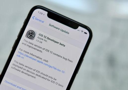 أبل تصدر الإصدار التجريبي الخامس من نظام التشغيل iOS 12.1