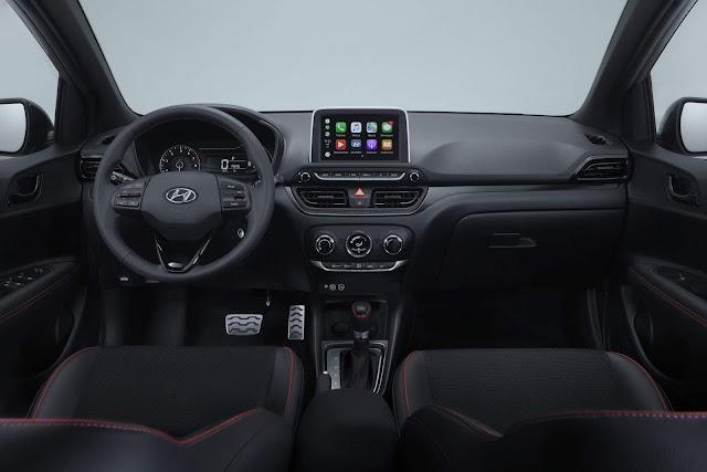 Novo Hyundai HB20 2020 Sport - interior - painel