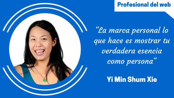 Perfil de profesional del web: Yi Min Shum Xie