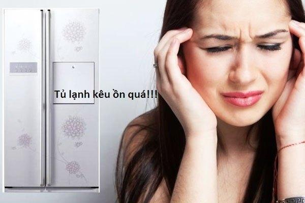 Tủ lạnh side by side Tạo tiếng ồn lớn khi hoạt động