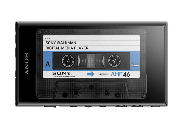 Sony NW-A105 walkman cassette UI