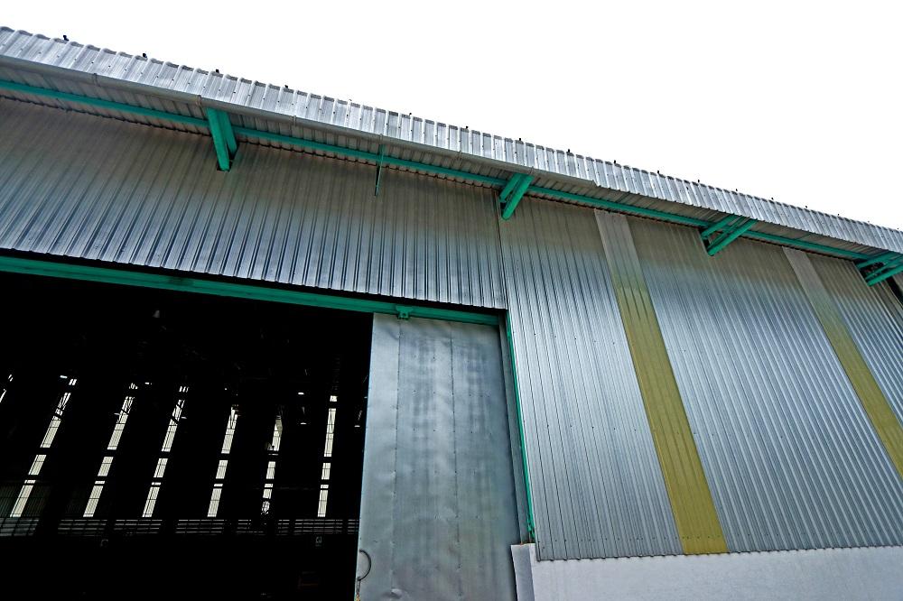 steel sheds