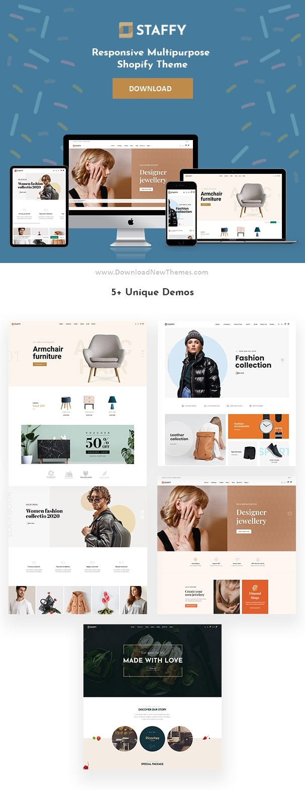 Multipurpose Shopify eCommerce Theme