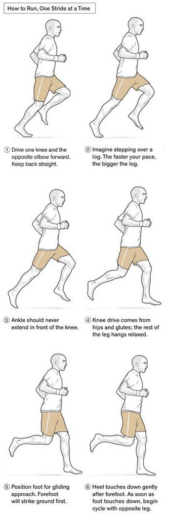 How to Run, One Stride at a Time