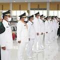 Gubsu Lantik 6 Kepala Daerah, Bobby Nasution-Aulia Rahman Sah Pimpin Medan