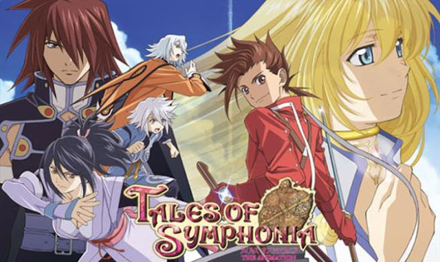 Tales Of Symphonia The Animation - Daftar Rekomendasi Anime Buatan Studio Ufotable Terbaik