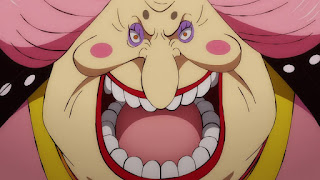 ワンピースアニメ 989話 ワノ国編 | 四皇・ビッグマム おリン | ONE PIECE  Charlotte Linlin