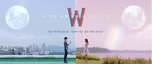 W - Korean Drama poster