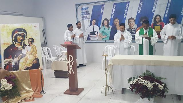 IESF inicia mais um período letivo com ações de graças