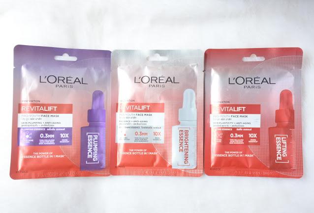 Varian lengkap L'oreal Revitalift Pro Youth Mask