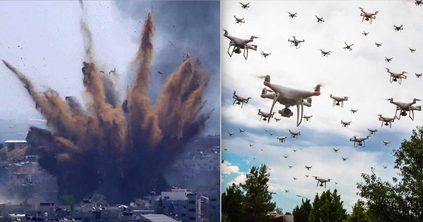 Israeli Defence Forces Had Used Swarm Of Artificial Intelligence Combat Drones To Target Palestinian Militants