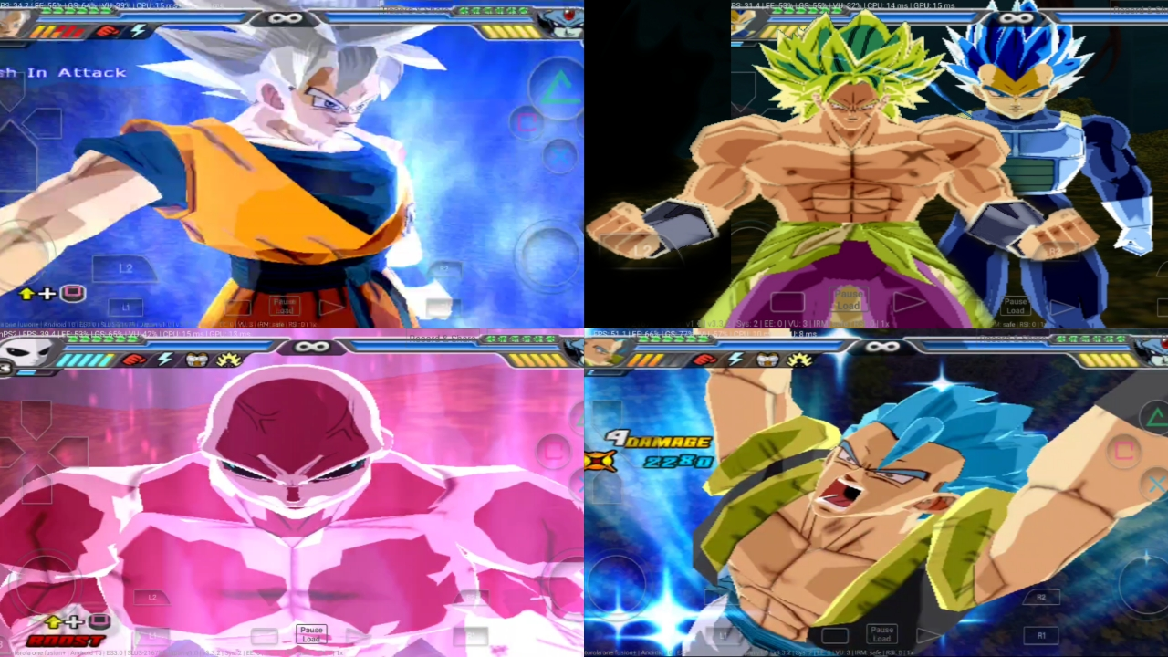 DBZ BT3 MOD CANNON PS2 ISO Download