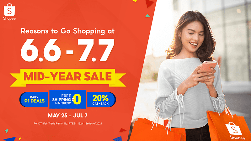 Reasons to check out the items in your cart at Shopee's 6.6 - 7.7 Mid-Year Sale