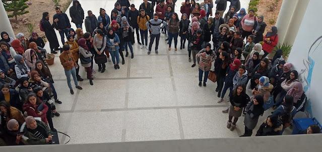بسبب عدم توفير الأكلة الجامعية : طلبة يدخلون في إضراب مفتوح في المهدية