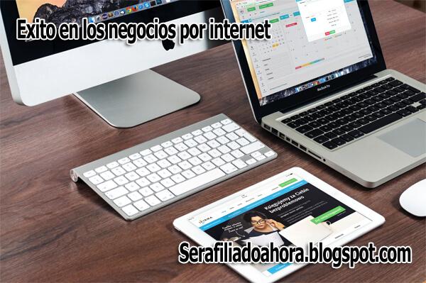exito negocios por internet