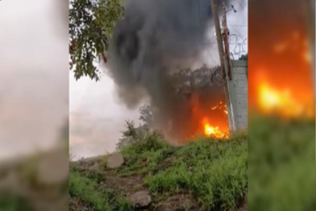 Video; Así es como instalaciones del Ejercito Mexicano son atacadas en Michoacán tras guerra Cárteles Unidos vs CJNG
