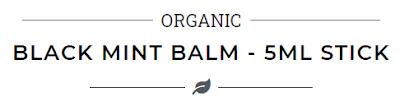 black mint, balm, lip balm, balzam za usne, lips, lip care, njega usana, cbd, hemp, konoplja, cbd balm, review, recenzija, blogger,