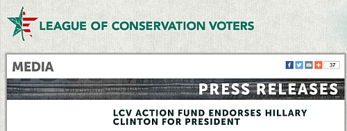 http://www.lcv.org/media/press-releases/LCV-Action-Fund-Endorses-Hillary-Clinton-for-President.html