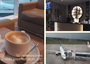 Bersantai Menunggu Penerbangan Pada Concordia Lounge  Bandara Ahmad Yani Semarang Dengan Prokes Covid-19