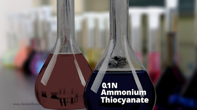 0.1 N Ammonium thiocyanate (NH4SCN) solution