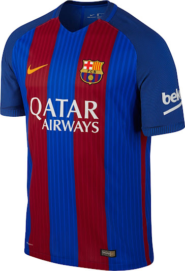 b0702dfd8fa Barcelona Qatar Airways Kits Now Available - Footy Headlines