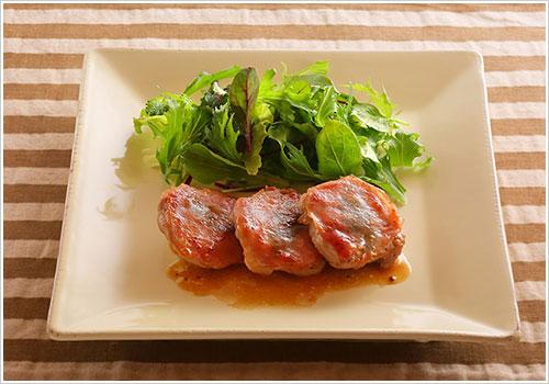 豚フィレ肉のサルティンボッカ