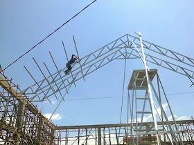 pasang atap baja ringan di cianjur pusat jawa barat kang aji