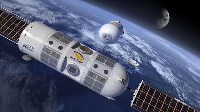 El primer hotel espacial abrirá en 2021 y ya puedes reservar