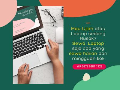 harga sewa laptop untuk pribadi di Pekanbaru