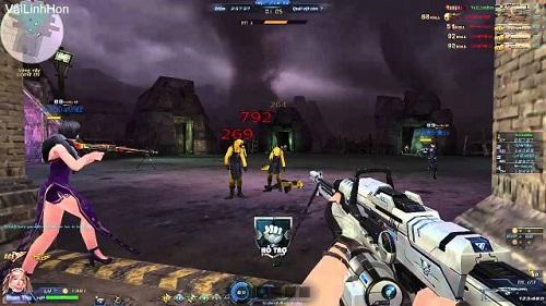 Phần chơi đặt bom đòi hỏi tinh thần đồng đội lên cao