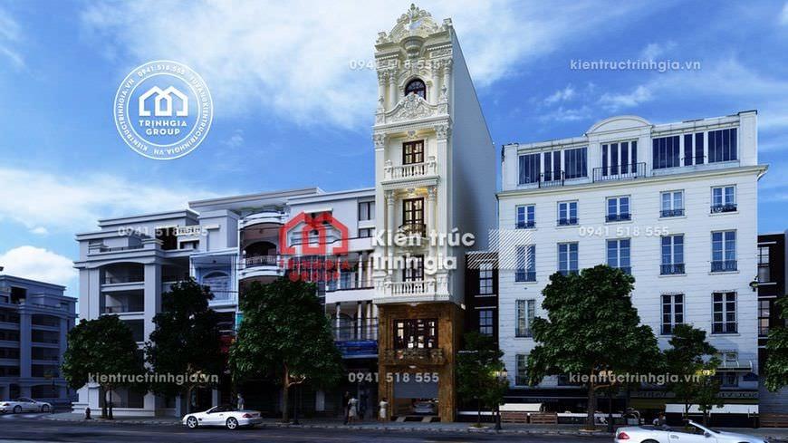 Động lòng trước thiết kế nhà phố 7x12m kiến trúc tân cổ điển - Mã số NP1521 - Ảnh 2