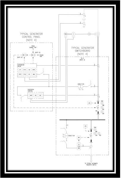 Emergency Generator Diagram circuit diagram template