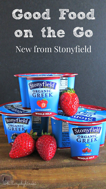 New Whole Milk Greek Yogurt Cups from Stonyfield