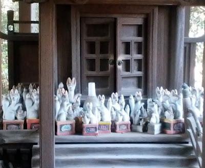 青梅市の神社 住吉神社 稲荷さん