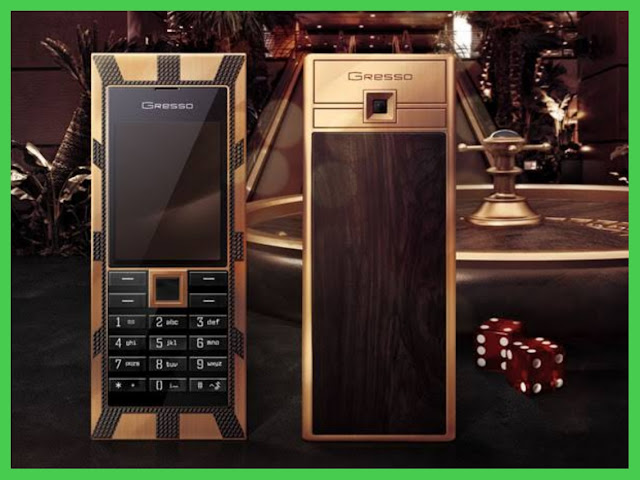 Gresso Luxor Las Vegas Jackpot - Most Expensive Phones Ever