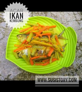 cara membuat acar ikan bumbu kuning