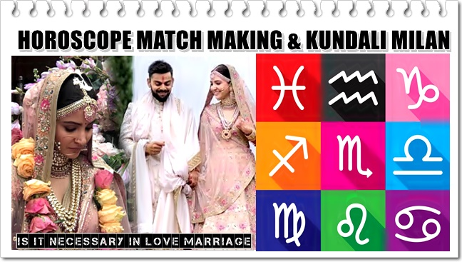 Is Zodiac Horoscope Matching Necessary in Love Marriage