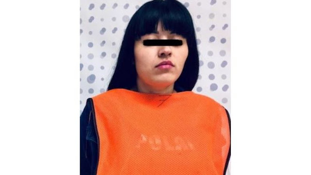 Karen Adriana dice ser del Cártel de Sinaloa y le decomisan droga valuada en 6 mdp