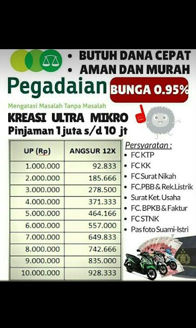 PEGADAIAN UPC Randublatung: Brosur Kreasi