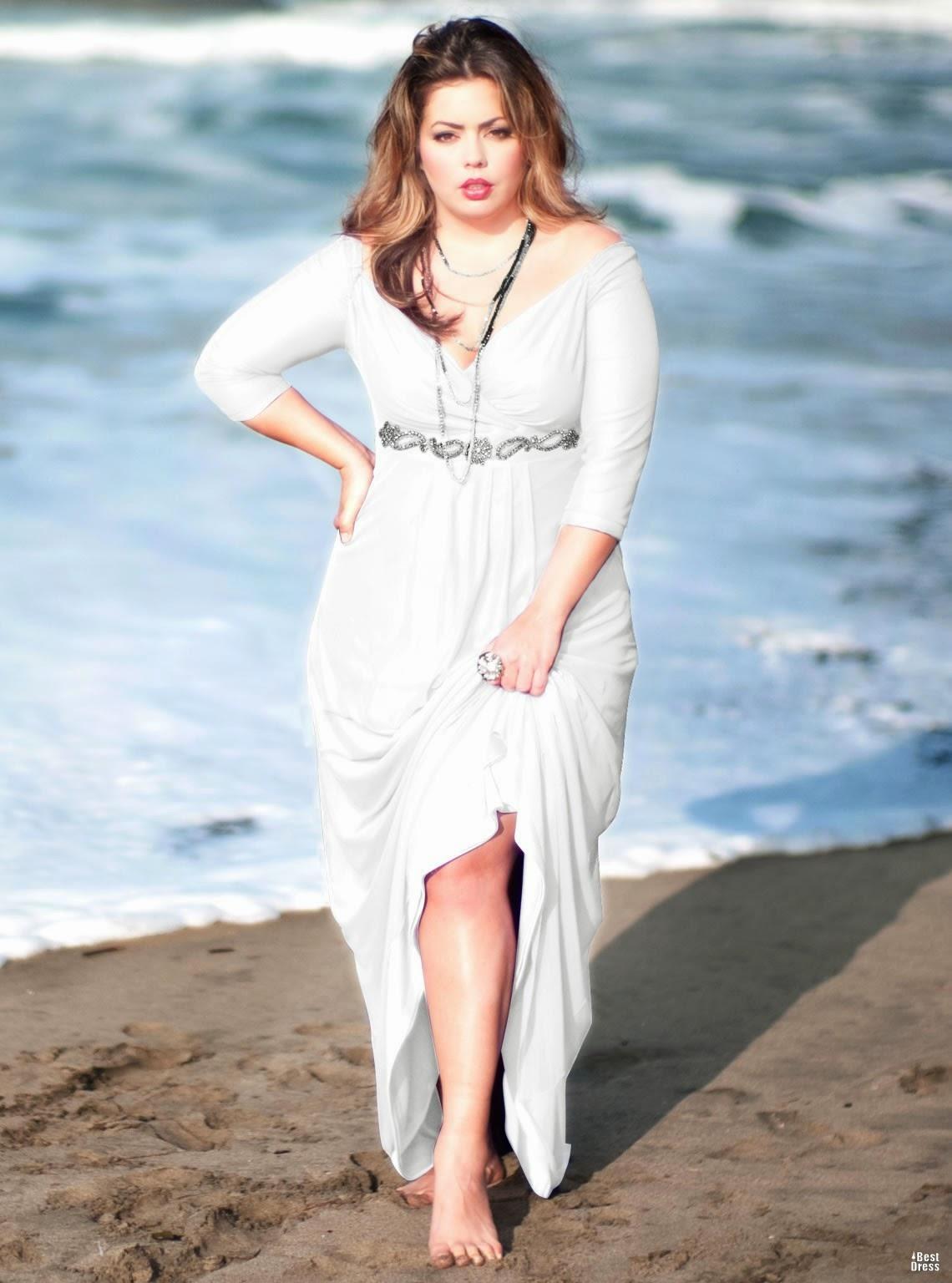 8e10c887e5 Best Plus Size Beach Wedding Dresses