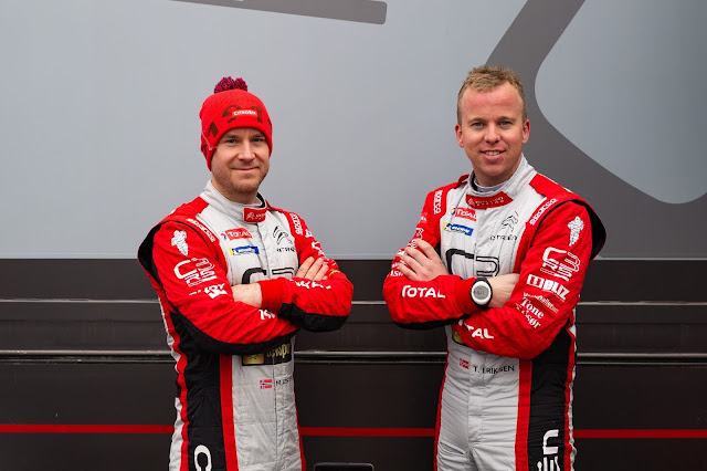 Mads Ostberg Rally Driver and Torstein Eriksen co-driver