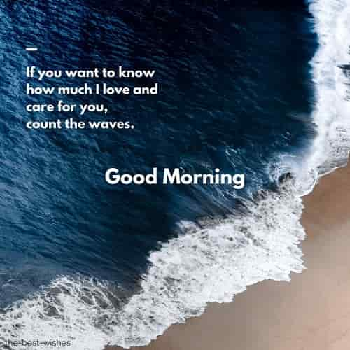 good morning love couple message