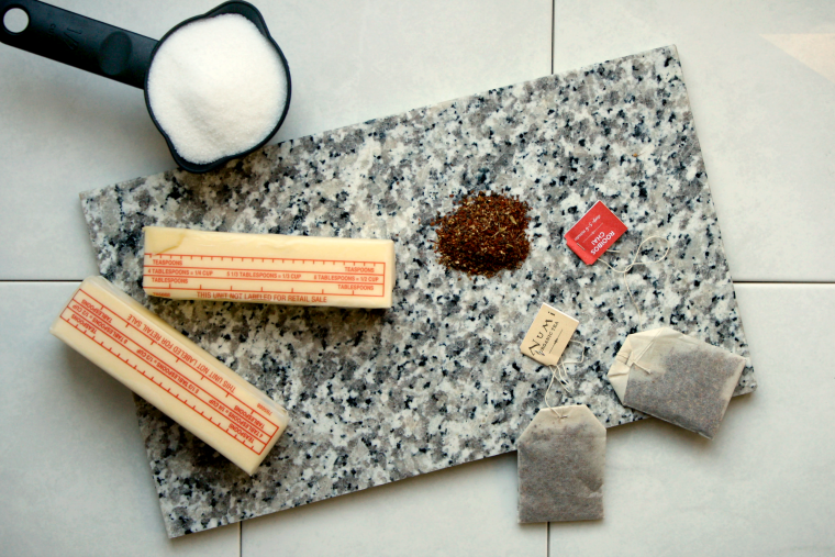 Organic rooibos chai shortbread cookies recipe