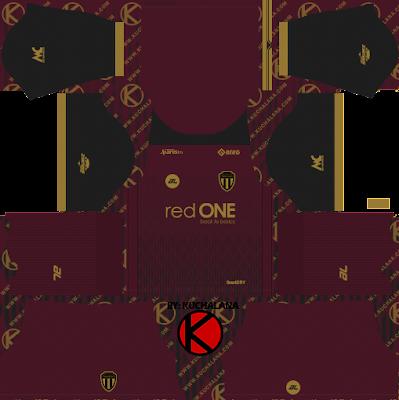 Terengganu FC Kits 2021 -  DLS2019 Kits