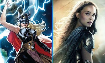 Natalie Portman, aka Jane Foster, aka Mighty Thor/Female Thor.