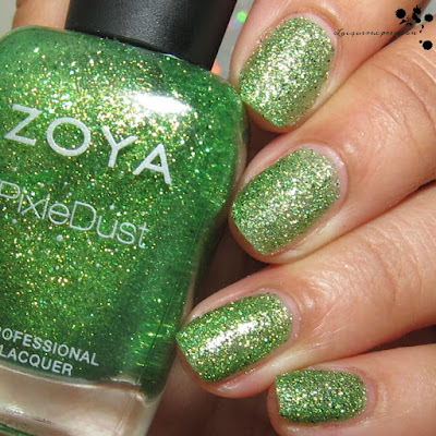 nail polish swatch of Cece  by zoya from the seashells collection