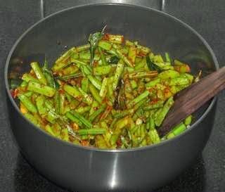 add the masala and salt